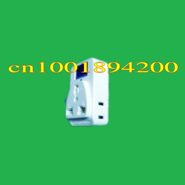 220V 10A 500W Wireless remote control socket plug (1 socket & 1 controller ) Learning code to add many controller 100M