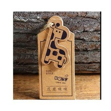 customized personalized  Kraft paper tag clothing