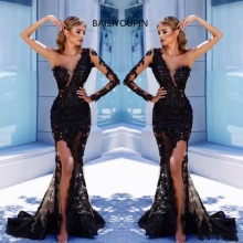 BAISIYOUPIN Evening Dresses Dress Vestidos De Fiesta