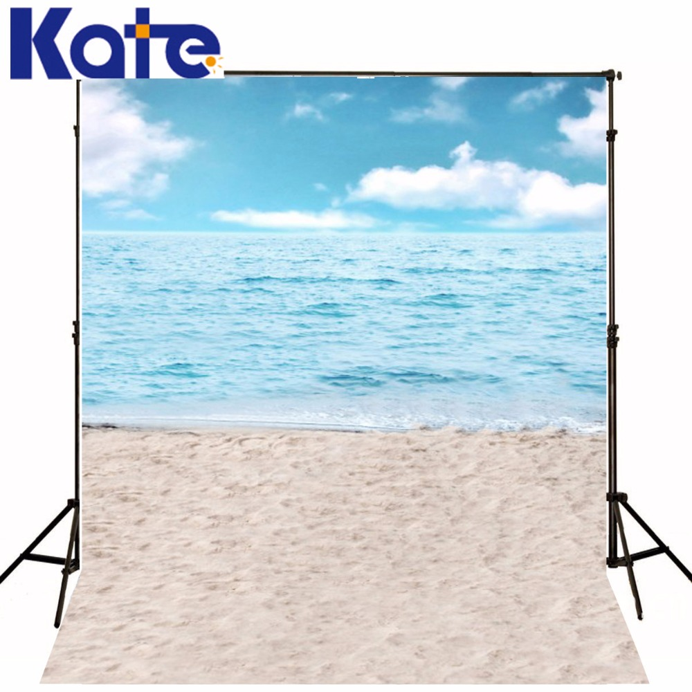 Kate Seaside Beach Backgrounds-For-Photo-Studio Children Photography Backdrops Cotton Washable Camera Fotografica Digital 1pc 150w 220v 5500k e27 photo studio bulb video light photography daylight lamp for digital camera photography
