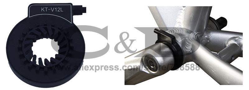 Top Free Shipping 1500W E-bike Electric Bike Conversion kit Driect Drive Motor MXUS 48V 52V 13AH 17AH Hailong Battery LCD 26