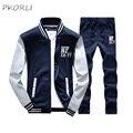 Mens Tracksuit Set Casual Autumn Winter Tracksuits Sportswear Men Zipper Exerisure Suits Male Sweatshirt Tracksuit Sets 4XL