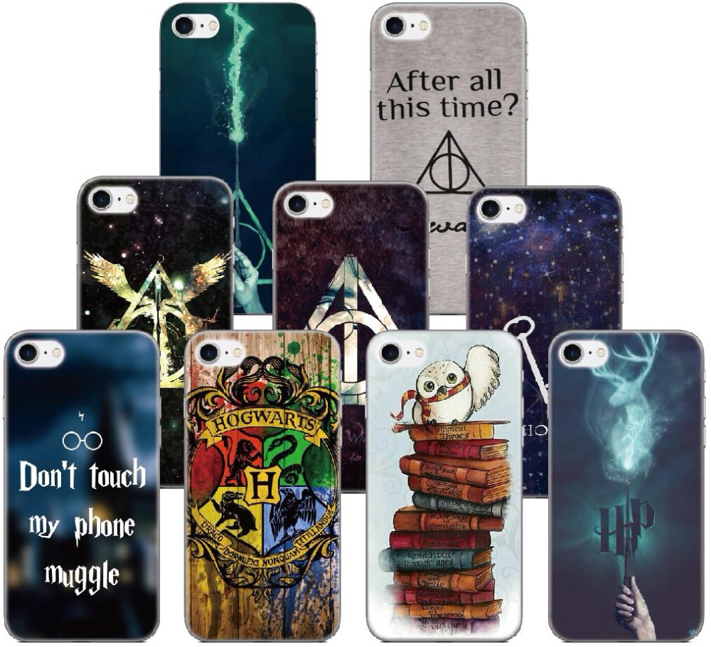 Harry Potter Wizards Hogwarts Quotes Cover For iphone X 4 4S 5 5S SE 5C 6 6S 7 8 Plus For iPod Touch 5 6 Phone Case Capa Coque