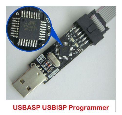 новый в нем делается usbisp AVR