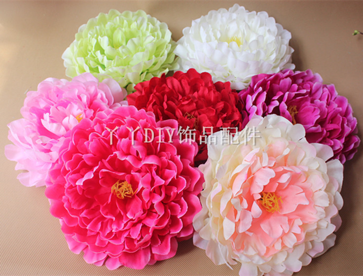 Free shipping 18cm large silk flowers roses heads bridesmaid flower free shipping 18cm large silk flowers roses heads bridesmaid flower accessoriesbeach seaside wedding decoration 5pcslot in artificial dried flowers mightylinksfo