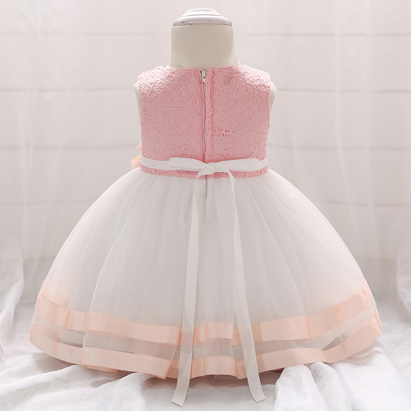 New 2020 Summer Toddler Baby Girl Dresses Party And Wedding Baptism Dress Newborn Girl Clothes One First Birthday Princess Dress