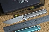 CH 3513 Folding knife M390 blade ball bearing washer titanium handle outdoor survival camping hunting pocket knives EDC tools