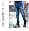 2016 Vendita Immobili Uglybros Vegas 05 Jeans Uomo Duhan Trasporto Libero Lato Nascosto Ginocchio Moto in Sella A Moto Pantaloni