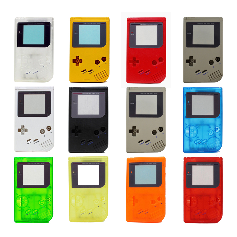20Set 10 colors available Game Replacement Case Plastic Shell Cover for GB for Gameboy Classic Console Case housing