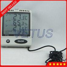 Instrumento de medición de la temperatura Ambiente con WBGT AZ87797 tarjeta SD datalogger