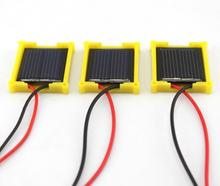 DIY Mini solar panel 30x25MM 1V 80MA Power Solar Cells Accessories for Powered Car kids toys Children 2019 new top quality