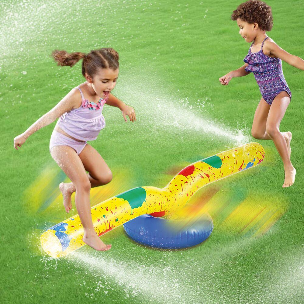 Inflatable Sprinkler Skip Jump Water Fun for Children Kids ...