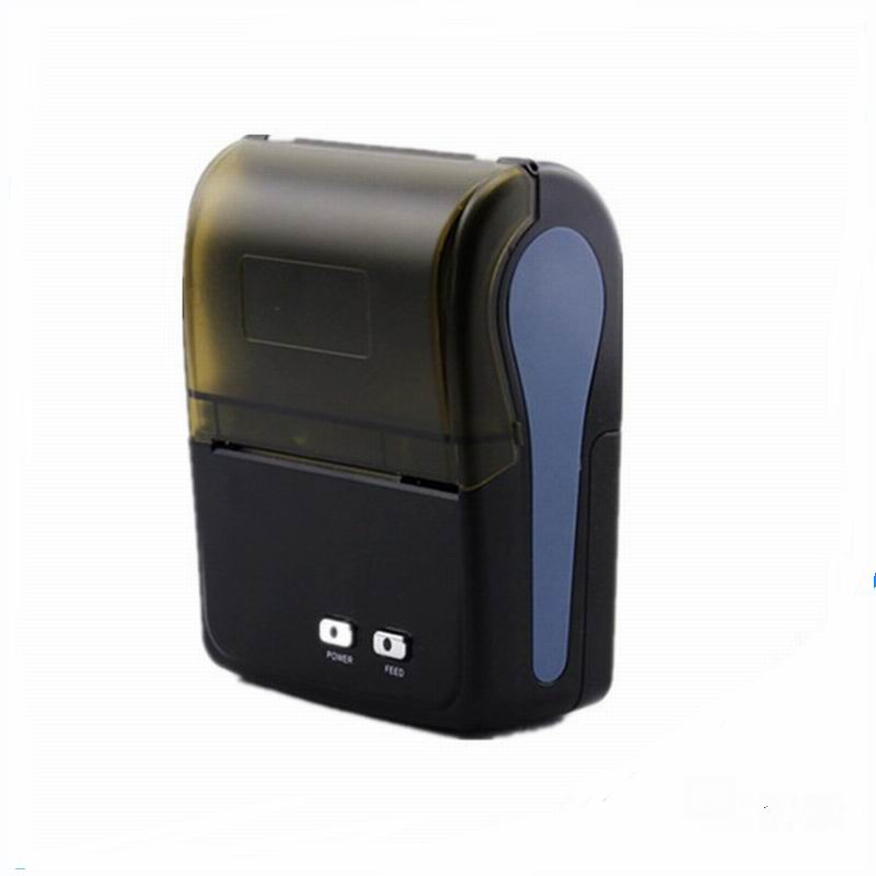 все цены на Free shipping  58mm Mini Thermal Receipt Printer coffee printer portable ticket printer with bluetooth 4.0 thermal printer онлайн