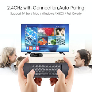 Image 3 - Backlit MX3 Air mouse 2.4G Wireless Keyboard Voice Remote Control Backlight English/Russian IR Learning for Android TV Box PC