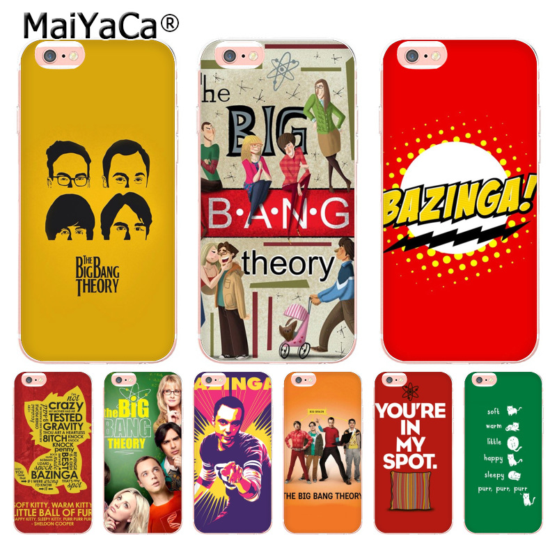 MaiYaCa Bazinga The <font><b>Big</b></font> <font><b>Bang</b></font> Theory tv show Coque <font><b>Phone</b></font> <font><b>Case</b></font> for iphone 11 Pro 8 7 6 6S Plus X 5 5S SE XS XR XSMAX image