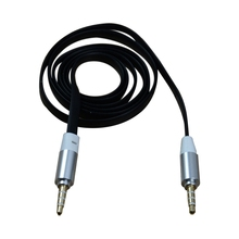 EDT-3.5mm Car Jack M to M Extend Stereo Audio AUX Cable Cord Black