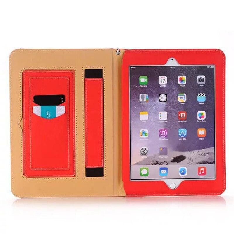 For iPad mini 4 Case Business Series PU Leather Ultra Slim Full Corner Protect Smart Cover Case for funda iPad mini 4 capa para