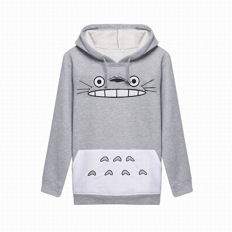Aliexpress Buy 2016 New Arrival Japan Anime Totoro Women Clothes Pokemon Sweatshirts Pullovers Girl Hoodies Cartoon Cosplay Halloween Costume From