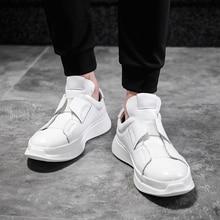 イタリアデザイナー革メンズスケート通気性カジュアルスニーカーファッション男性トレーナーの靴のサイズ36 45