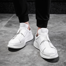 Italy Designer Genuine Leather Men Skateboarding Shoes Lace Up Breathable Casual Sneakers Fashion Men Trainers Shoes Size 36 45