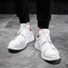 Italy designer de couro genuíno homens skateboarding sapatos rendas até respirável tênis casuais moda masculino formadores sapatos tamanho 36 45