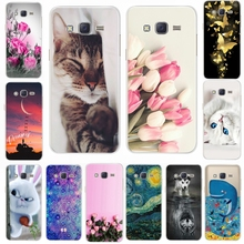 Phone Case For Samsung Galaxy J5 2015 J500 Cover Silicone Soft Cute Pattern TPU Back Case For Samsung Galaxy J5 2015 J500F J500H стоимость