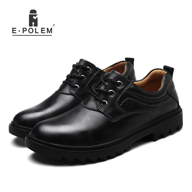 Light Martin Boots Men Shoes Male Business Casual Genuine Leather Breathable Lace-Up Comfortable Shoes hot sale men fashion shoes breathable anti skit genuine leather ankle boots for men lace up comfortable desert boots yellow