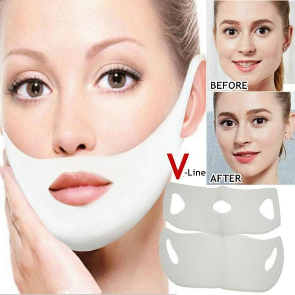 Quality Collagen Hyaluronic Acid Anti Wrinkle V Shape Face Firming Gel Sheet Mask Lifting Firming Face Mask Slimming for Face R6(China)