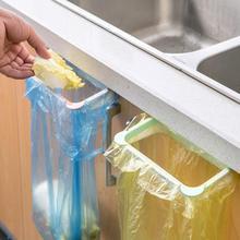 18.5*12*3.5cm Plastic Hanging Garbage Rubbish Bag Holder Cute PandaKitchen Cupboard Garbage Bag Storage Rack