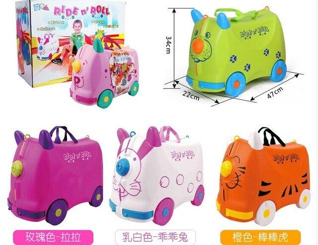 Детей могут ездить на чемодан беллы игрушки ребенок может сидеть корей путешествия чехол ребенок чемоданы более подлинным