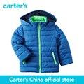 Картера 1 шт. детские дети дети Флисовой Подкладке Фугу Куртка CL168292, продавец картера Китай официальный магазин