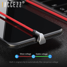 !ACCEZZ Lighting USB Charging Sync Data Cable For IPhone X XS XR Fast Charge Cables Apple Phone6 6S 7 8 SE Plus Charger Cord
