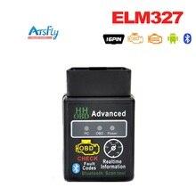 V2.1 HH OBD MINI ELM327 Black Bluetooth