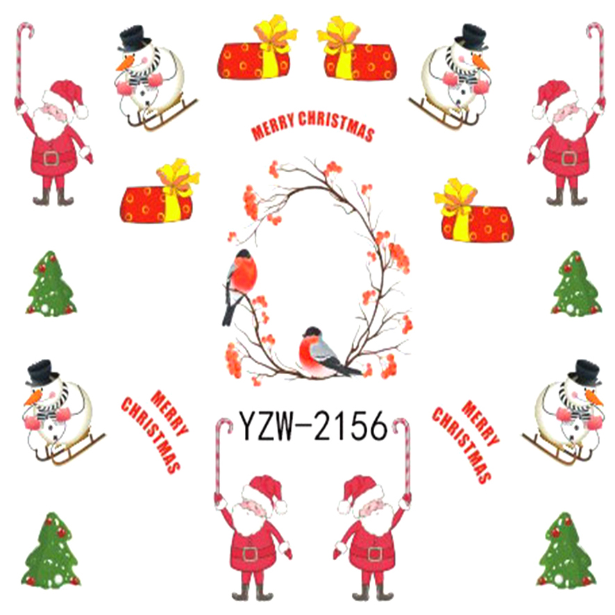 Online Get Cheap Christmas Nail Stickers -Aliexpress.com | Alibaba ...