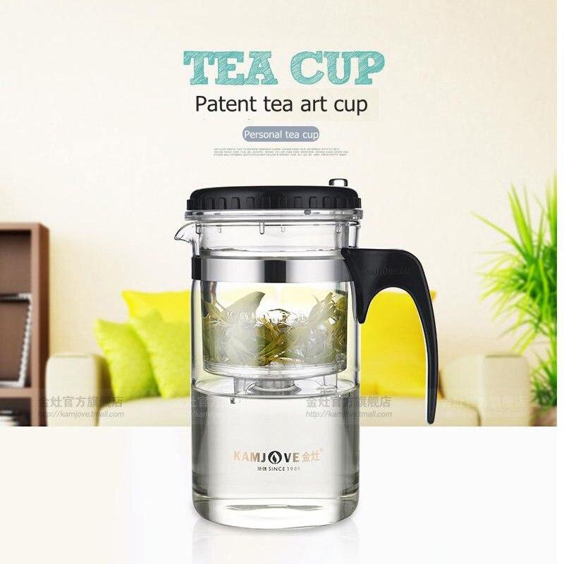 free shipping Kamjove quality elegant cup heat resistant teapot tea set delicate cup tea art pot