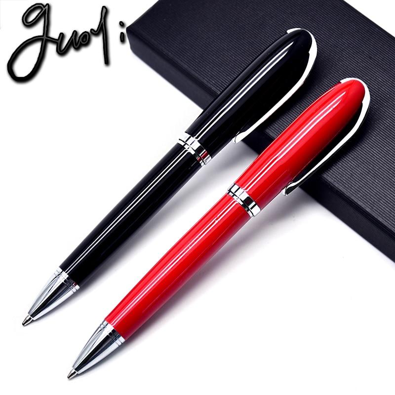 Guoyi zbrusu nové dárkové kuličkové pero A021 pro školní potřeby a kancelářské potřeby luxusní kuličkové pero G2 424