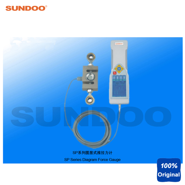 Sundoo SP 50K 50KN Digitale Diagramm Force Push Pull Tester in ...