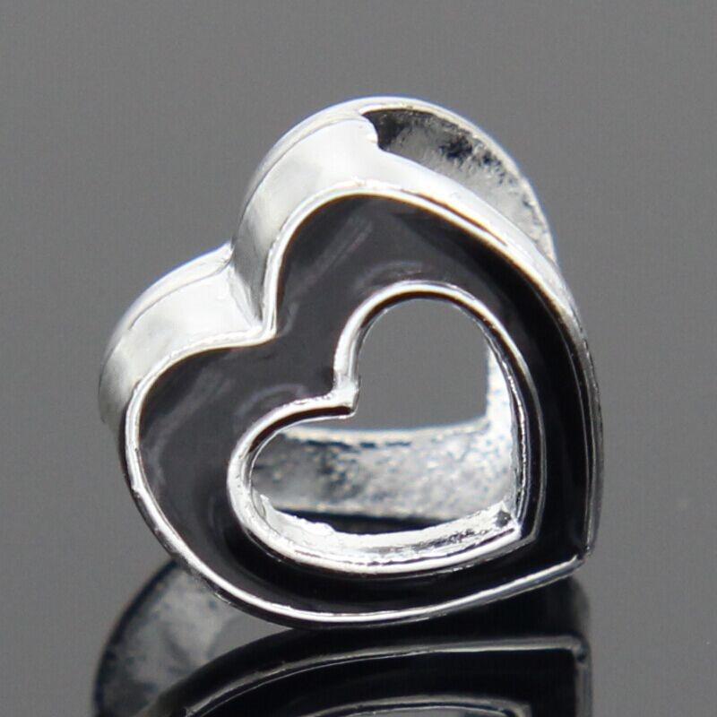 2018 new Free Shipping 1Pcs Silver Bead Charm European Silver with love cartoon Charm Pendant Bead Fit Pandora Bracelet gift