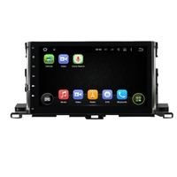 KLYDE 10.1 2 Din Android 8.1 Car Radio For Toyota Highlander 2015 2017 Car Audio Stereo Multimedia Player Mirror Link 1024*600