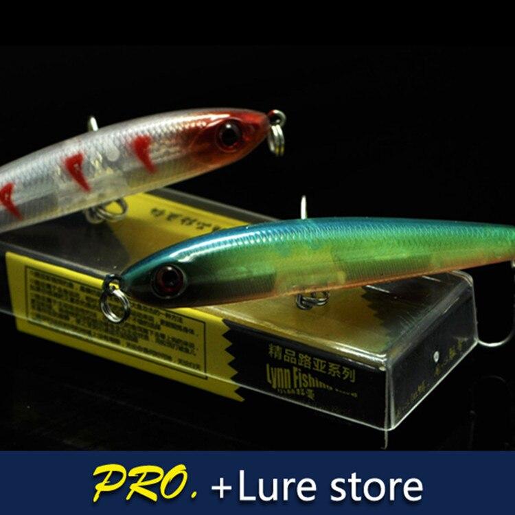 5pcs artificial pencil deep diving baits lure ,fishing tackle pencil lure baits , 7cm 7g fishing lure pencil lure baits