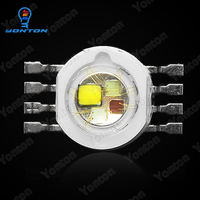50pcs/lot 12W rgbw high power led chip 8 pins for stage lighting