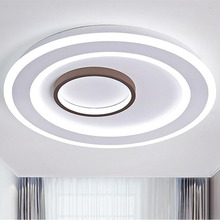 Ultra Thin LED Ceiling Lights Lighting Fixture Modern Lamp Living Room Bedroom Kitchen Surface Mount Remote Contro