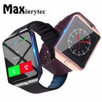 Montre intelligente Bluetooth DZ09 Relojes montre intelligente Relogios TF caméra SIM pour IOS iPhone Samsung Huawei Xiaomi téléphone Android PK Y1 A1