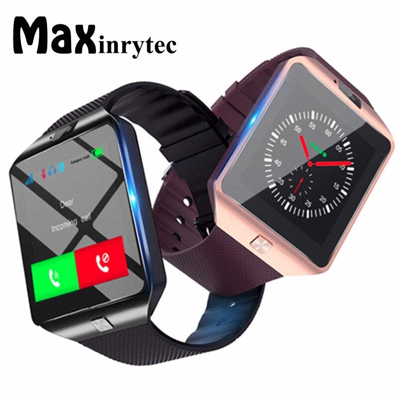 Reloj inteligente Bluetooth DZ09 Relojes reloj, Relojes TF SIM cámara para IOS iPhone Samsung Huawei Xiaomi Android Teléfono PK Y1 A1
