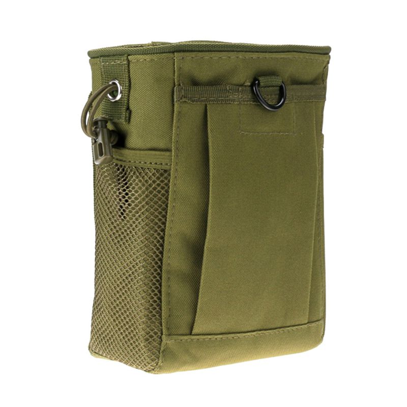 Hot Military Molle Ammo Pouch Tactical Gun Magazine Dump Drop Reloader Pouch Bag Utility Hunting Rifle Magazine Pouch New tactical 1000d molle utility edc magazine bag waist bag dump drop pouch men outdoor sports medical first aid pouch