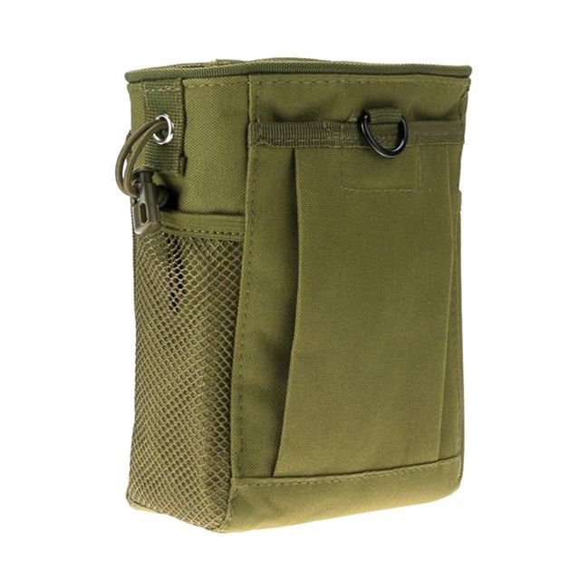 Hot Military Molle Ammo Pouch Tactical Gun revista volcado gota recargador bolsa utilidad caza Rifle revista bolsa nuevo