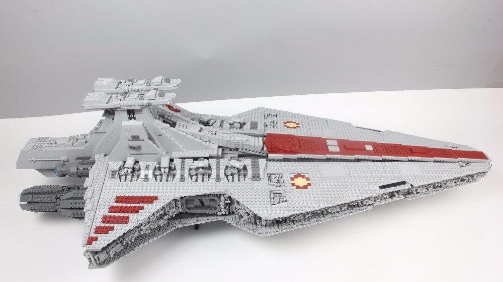 05077 6125 pçs série o ucs rupblic star destroyer cruiser st04 conjunto blocos de construção tijolos brinquedos para crianças compatíveis