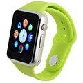 A1 bluetooth smart watch для android телефон поддержка SIM/TF мужчины женщины релох inteligente спорт Смартфон PK DZ09 multi-лингвальные