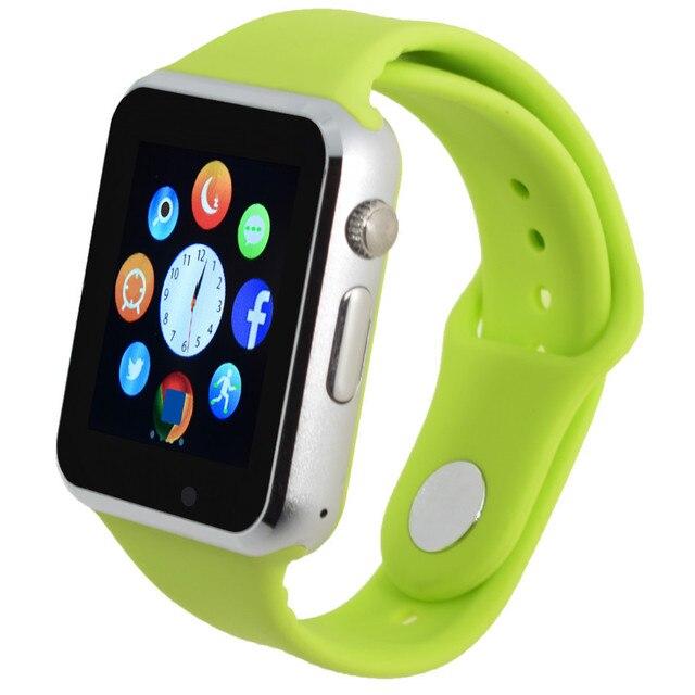 A1 bluetooth smart watch for android phone support SIM/TF men women reloj inteligente sport Smartphone  PK DZ09  multi-lingual
