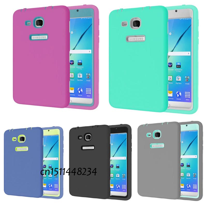 new listing luxury tablet shockproof case cover for samsung galaxy tab a a6 7 0 t280 t285 child. Black Bedroom Furniture Sets. Home Design Ideas